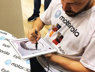 Ibyte & Motorola – Comprou Ganhou!