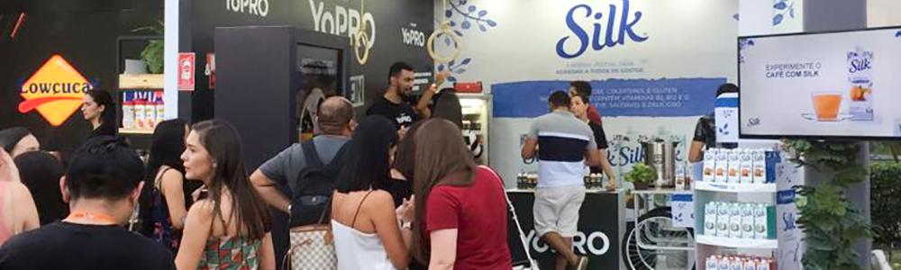 Stand Club Social no Festival Costume Saudável 2019 no estacionamento do Shopping Riomar Fortaleza.