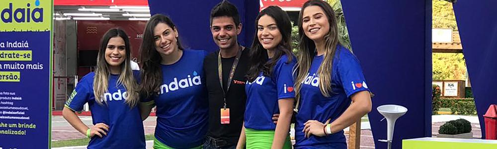 Espaço Indaiá no Festival Costume Saudável 2019 no estacionamento do Shopping Riomar Fortaleza.